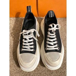 Alexander McQueen Tread Slick Low Top Sneakers